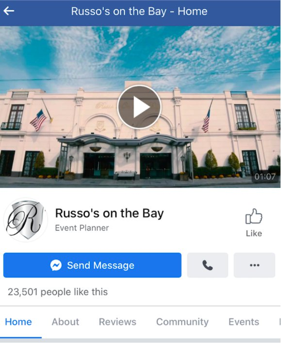Russo's facebook page