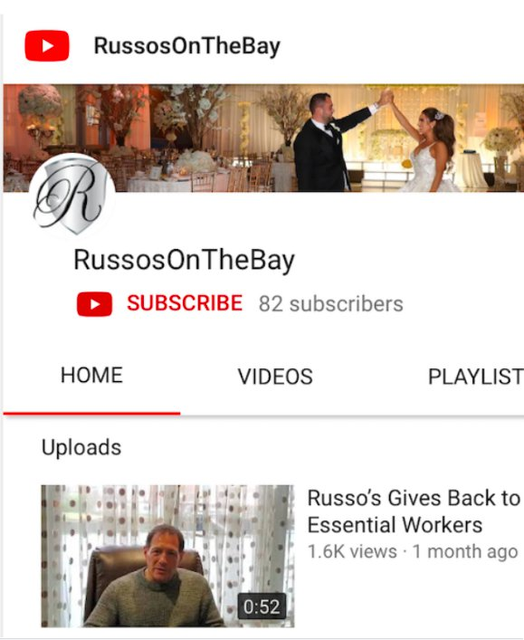 Russo's Youtube Channel